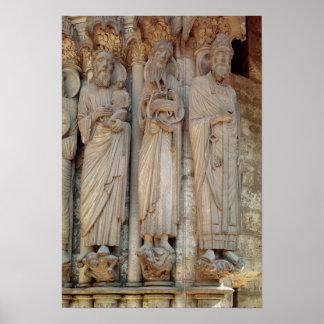 The Prophet Simeon, St. John the Baptist Poster