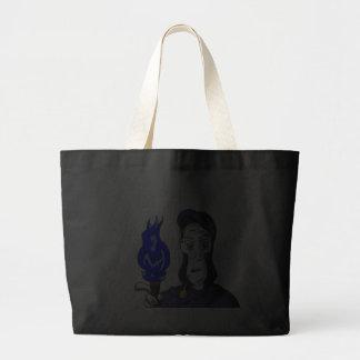 The Prophet Speaks Dark Tote Canvas Bags