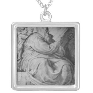 The Prophet Zacharias Silver Plated Necklace