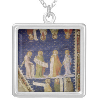 The Prophets Ezekiel, Jeremiah Silver Plated Necklace