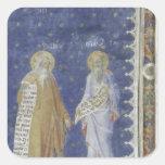 The Prophets fresco Salle de la Grande Audience Square Sticker