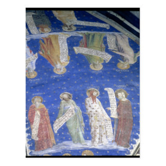 The Prophets Job, Isaiah, Jeremiah, Solomon Postcard