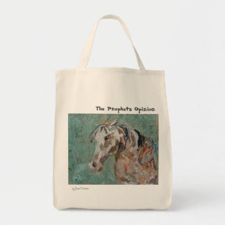 The Prophet's Opinion Tote Bags