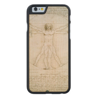 The Proportions of the human figure Carved Maple iPhone 6 Case