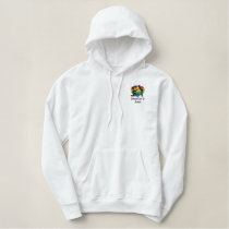 The Proposal Gay Rainbow Love Heart Embroidered Hoodie