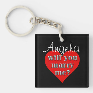 The Proposal Keychain