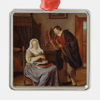 The Proposal Metal Ornament