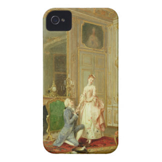The Proposal (oil on panel) iPhone 4 Case