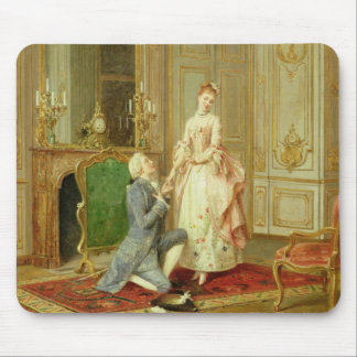 The Proposal (oil on panel) Mouse Pad