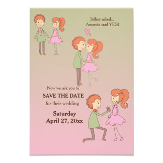 The Proposal Save the Date Announcements