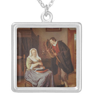 The Proposal Silver Plated Necklace