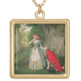 The Proposal (w/c on paper) Gold Plated Necklace
