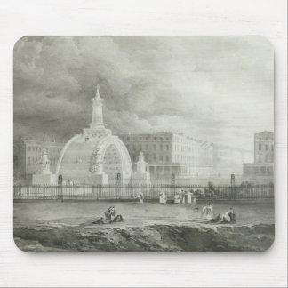 The Proposed Triumphal Arch from Portland Mouse Pad