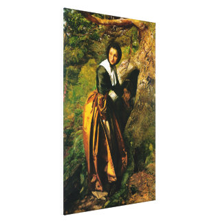 The Proscribed Royalist Canvas Print