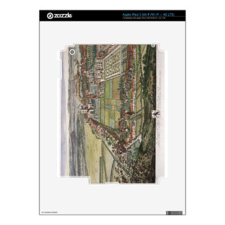 The prospect of Nottingham from the East engraved iPad 3 Decal