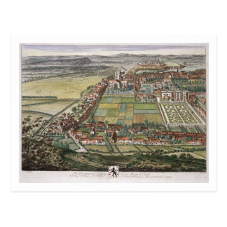The prospect of Nottingham from the East engraved Postcard