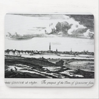 The Prospect of the Town of Glasgow Mouse Pad