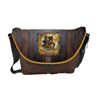 THE PROSPERITY CONNEXION : Art of Fengshui Courier Bag