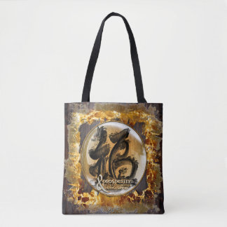 THE PROSPERITY CONNEXION : Art of Fengshui Tote Bag