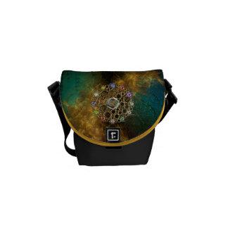 THE PROSPERITY CONNEXION : Gems of Fortune Messenger Bag