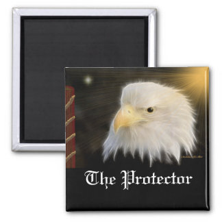 The Protector 2 Inch Square Magnet