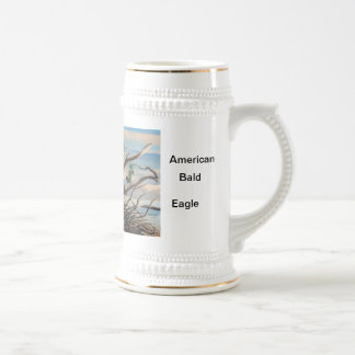 The Protector...American Bald Eagle. Beer Stein