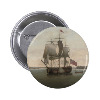 The Protector Ship Pinback Buttons