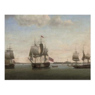 The Protector Ship Postcard