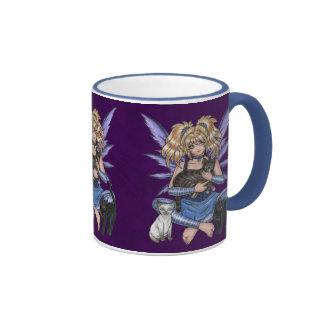 The Protectors Cat Fairy Mug