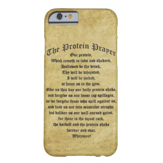 The Protein Shake Prayer Barely There iPhone 6 Case