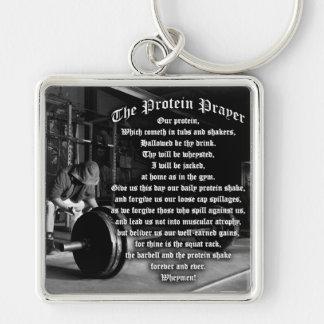 The Protein Shake Prayer Keychain