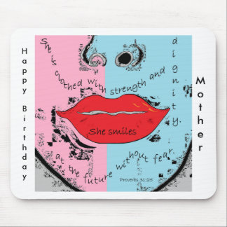 The Proverbs 31 Woman Happy Birthday Mother Mouse Pad