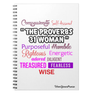 The Proverbs 31 Woman Notebook
