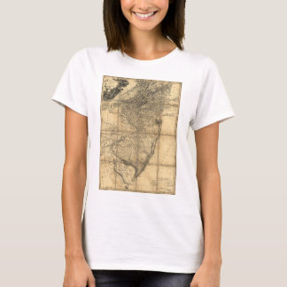 The Province of New Jersey Map (1778) T-Shirt