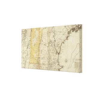 The Provinces of Massachusetts Bay Canvas Print