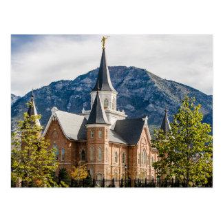 The Provo City Center Utah LDS Temple Postcard