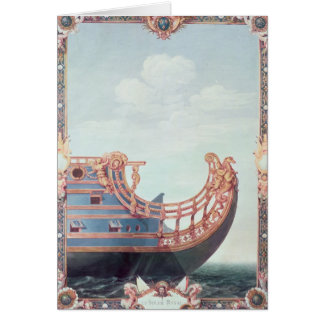 The Prow of 'Le Soleil Royal' Card