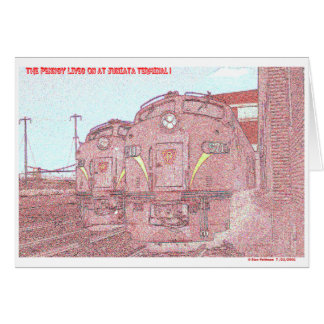 The PRR Lives on at Juniata Terminal Company Card