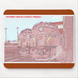 The PRR Lives on at Juniata Terminal Company Mouse Pad