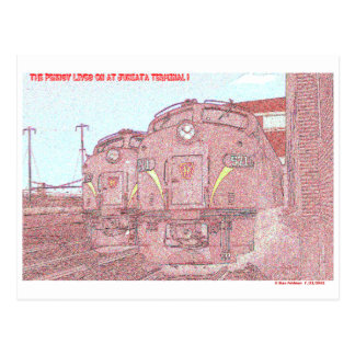 The PRR Lives on at Juniata Terminal Postcard