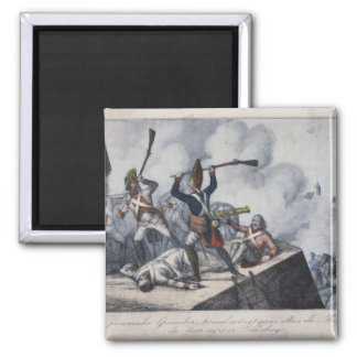 The Prussian Grenadier 2 Inch Square Magnet