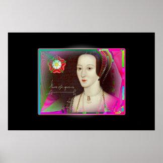 The psychedelic Anne Boleyn Poster