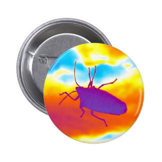 The Psychedelic Bug Button