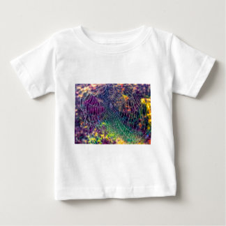 The Psychedelic Web Baby T-Shirt