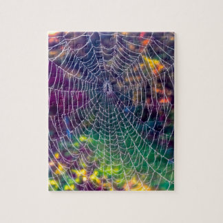 The Psychedelic Web Jigsaw Puzzle