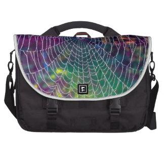 The Psychedelic Web Laptop Messenger Bag