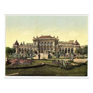 The public garden and casino, Vienna, Austro-Hunga Postcard