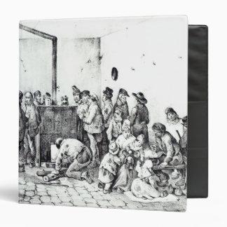 The Public Warming Room in Paris, 1840 Binder