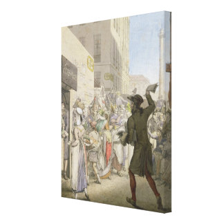 The Public Writer Canvas Print