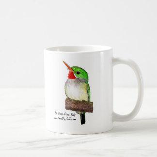 The Puerto Rican Tody or San Pedrito Coffee Mug